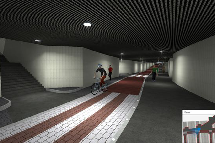 Helsinki envisions downtown bike tunnel